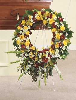 Floral Wreath - Tribute One