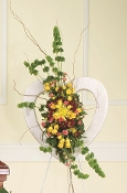 Open Heart Flower Arrangement